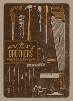 The Avett Brothers: Baltimore, Maryland, September 23, 2012