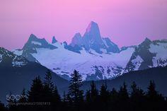 Devils Thumb Alpenglow by intrepidphotos via http://ift.tt/2rJyDO8