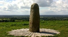 The Stone of Destiny at the Hill of Tara.