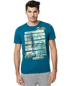 Buffalo David Bitton Men's Nestle Graphic-Print T-Shirt - T-Shirts - Men - Macy's