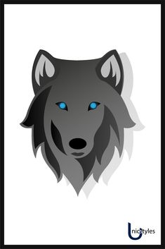 Wolf face