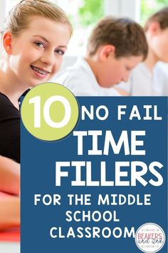 Want to make the most of an extra five or ten minutes at the end of class? You're going to love these time filler activities geared towards upper elementary and middle school students! They are fun, educational, and great for building relationships! First Year Teaching, Teaching Schools, Teaching Science, Teaching Ideas, Science Resources, Science Lessons, Teacher Resources, Secondary School Science, Middle School Science