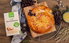 Strudel mit Trauben, Grieß und LAND-LEBEN Bio Semmelbrösel Cooking, Life