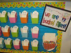 Bucket Fillers bulletin board