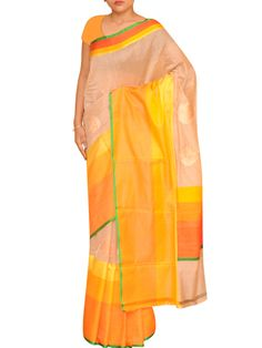 Shop for exclusive cotton silk saree on India's only silk saree online store at www.ethnicroom.com