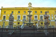 #Palermo, Piazza Pretorio, una delle piazze più belle del Mondo, © #2014HyeracijProject