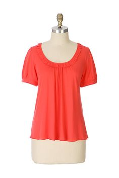a0b4cbf15133a Maribel Tee by Ric Rac Virtual Closet, Anthropologie, Peplum, Tunic Tops,  Anthropology