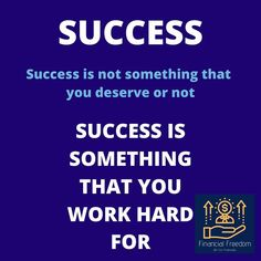 SUCCESS MONDAY 🚀 - - - - - #successfulpeople #successinlife #successinbusiness #whatissuccess #besuccessful #successisontheway #beready #youarethebest #youaretheboss #bealeader What Is Success, Successful People, You Working, You Deserve, Work Hard, Freedom, Life, Liberty, Political Freedom