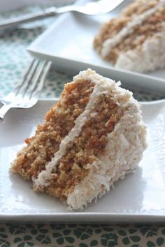 carrot and apple cake with a cinnamon cream cheese frosting