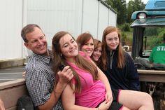 Family fun time on the farm at Mercier Orchards in Blue Ridge, Georgia! #blueridgega