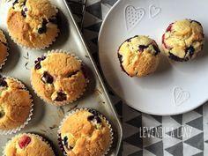 Isteni áfonyás muffin Deserts, Muffin, Breakfast, Food, Image, Morning Coffee, Desserts, Eten, Postres