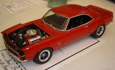 Model Car, Model Kits, Chevy Models, Chevrolet Camaro, Scale Models, Diecast, Drums, 18th, Miniature