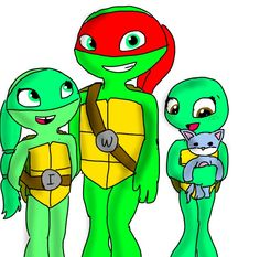 Tyla and Otto's kids, left to right  Ivory, Willery, and Avery