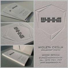 white buisness card