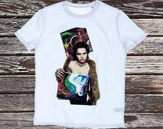 Jett Rebel T-shirtStanley Leads Wit t-shirt met een full colour opdruk.