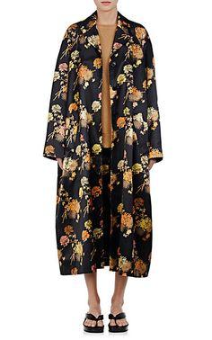 Dries Van Noten Rankin Floral Cotton-Blend Coat - Coats - 505008514