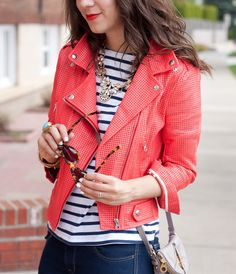 Rebecca Minkoff moto jacket // Adventures in Fashion