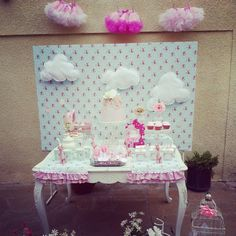 Shabby chic baby shower #shabbychic #babyshower