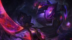 "Some Dark Star League of Legends fanart ""In the far reaches of space a shadow reaps the very light from the universe. My cosmics tremble at its presence in the spatial void. Nocturne, Jhin League Of Legends, Girl Artist, Dark Star, Fan Art, Fantasy Creatures, Character Art, Character Design, Fantasy Art"