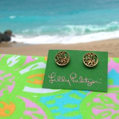 Lilly Pulitzer Earrings- free gift with every purchase