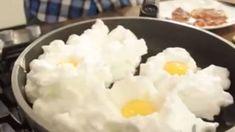 Eier auf Wolken