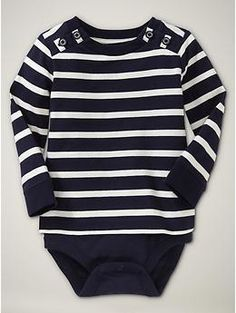 nautical stripes - love this - pair with grey and yellow (or a softer red)
