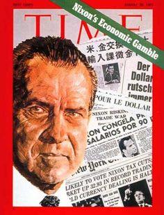 Richard Nixon, Time Magazine, Aug. 30, 1971
