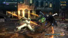 Battle with Lumen Sage Image from 'Bayonetta 2' Sourced 18/01/17  http://kuragawa.blogspot.co.uk/2014_11_01_archive.html
