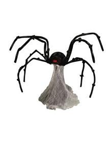 Happy halloween on pinterest clowns halloween prop and for Animated spider halloween decoration