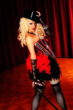 Olga Italy, French Market Stitch http://www.etsy.com/listing/81187654/diva-red-black-sequins-burlesque-corset
