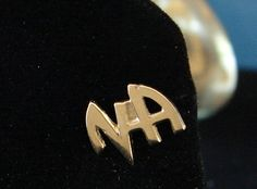 "Narcotics Anonymous ""NA Logo"" Lapel Hat Vest Pin NA Recovery Al Anon"