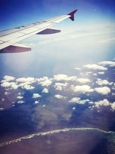 Falling in love with this view.. ♥ ♥ ♥  Going home from Bali to Jakarta :D  #Bali #Indonesia #beautiful #View #Jakarta