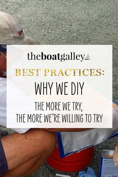 Saving money is just one of the reasons we do most work on our boat ourselves. Learn the other reasons we prefer to do things ourselves. Boat Projects, Along The Way, Sailboat, Saving Money, Learning, Boats, Tips, Studying, Boat