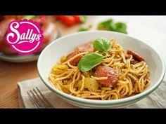 Sallys Rezepte - One Pot Sucuk-Spaghetti-Topf / 25 Minuten Rezept / Eintopf