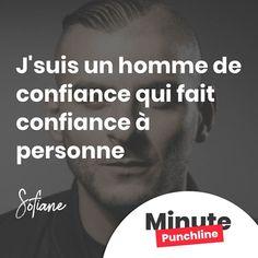 """""""J'suis un homme de confiance qui fait confiance à personne."""" @fiansolevrai #rap #rapfr #rapfrancais #fianso #sofiane #punch #punchline #punchlines #citation #minutepunchline"""