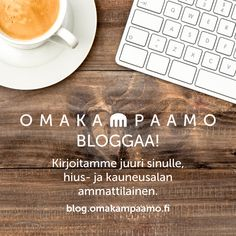 Joko huomasit blogimme? Tutustu heti! #omakampaamo #blogi #bloggailu #salonki #kampaaja #kosmetologi #kynsitaiteilija #hiukset #kynnet #liiketoiminta #some #some-kanavat #palvelu #huippupalvelu Katso lisää osoitteessa www.omakampaamo.fi