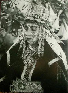 Mariée. Maroc d'autrefois.
