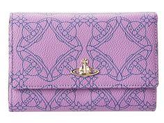 Vivienne Westwood Logomania SLG New Purse Violet - Zappos Couture