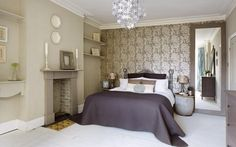 The BBC's latest show challenges amateur interior designers to redecorate   strangers' homes on a budget. Here, we see how a dark bedroom was turned   into an elegant, relaxing sanctuary