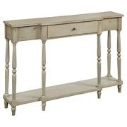 For a sofa table behind loveseat portion of sectional?? Wyoming Antique Console Table - Wood