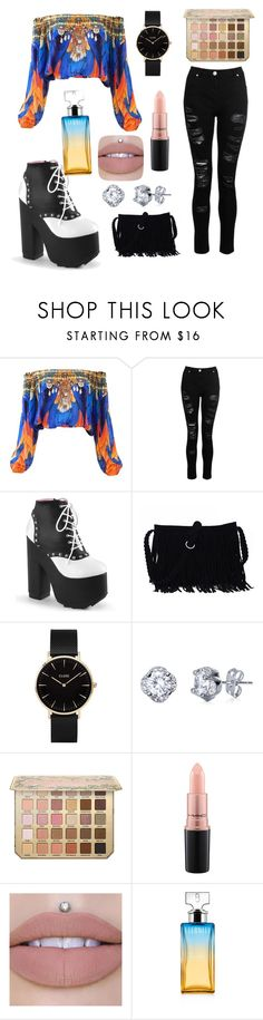 """Untitled #42"" by styleparty ❤ liked on Polyvore featuring CLUSE, MAC Cosmetics and Calvin Klein"