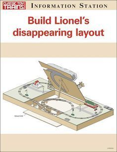 Build Lionel's disappearing layout