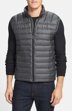 ae603500a881 Patagonia  Down Sweater  Vest available at  Nordstrom Patagonia Down  Sweater Vest, Quilted