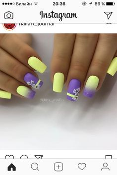 If you are looking for the most popular Easter nail design of then you are in the right place. We have collected dozens of cute Easter nail designs, and you will love it . nails design gel Cute Easter Nail Designs You Have to Try This Spring Yellow Nails Design, Yellow Nail Art, Easter Nail Designs, Best Nail Art Designs, Newest Nail Designs, Beachy Nail Designs, Turquoise Nail Designs, French Pedicure Designs, Nagellack Design