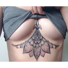I normally don't like tattoos on your chest but this one is pretty.