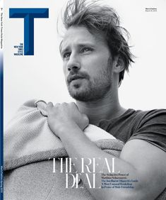 "3D Type: ""T"" for The New York Times Style Magazine (this one with Matthias Schoenaerts on the cover)."