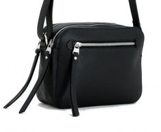 Crossovertasche Gianni Chiarini Sporty New Nero schwarz - Bags & Kate Spade, Sporty, Bags, Fashion, Leather Bag, One Color, Pouch, Hand Bags, Black