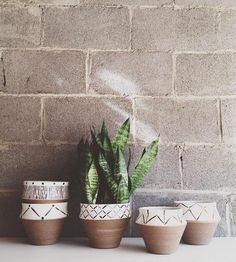 Rustic Ceramic Planter by Convivial Production on Scoutmob Shoppe