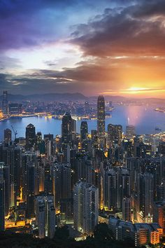 A Golden Hong Kong Morning