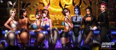 Overwatch Bunny Girl by Liang-Xing.deviantart.com on @DeviantArt